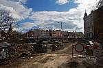 Práce v okolí mostu u Bristolu, 27. února 2020
