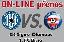 SK Sigma Olomouc - 1. FC Brno