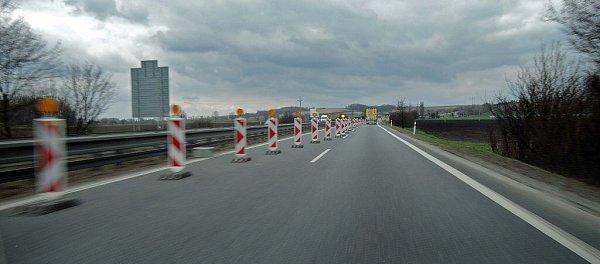 Oprava mostu na R46 mezi Bystročicemi a Olšany uProstějova