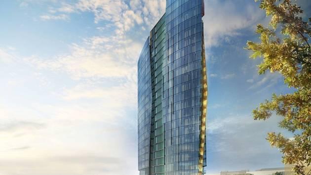 Vizualizace mrakodrapu na Šantovce