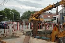 Přestože se v Řepčíně mohutně staví, řidiči už projedou až k Moravským železárnám.