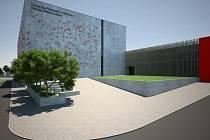 Vizualizace nového univerzitního kampusu v Olomouci-Neředíně