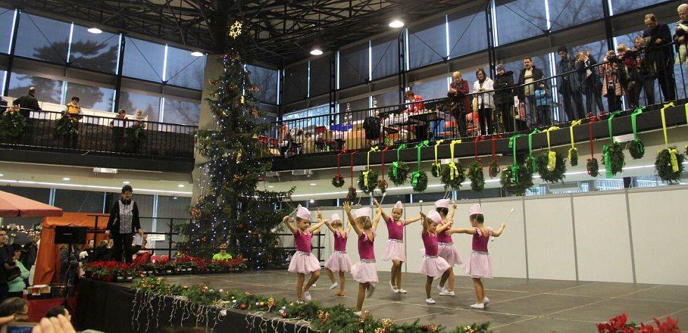 Vánoční trhy v pavilonu A olomouckého výstaviště Flora