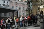Dny evropského dědictví: prohlídka Sloupu Nejsvětější Trojice