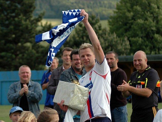 Fotbalista Radim Kučera se ve Viganticích rozloučil se svojí bohatou kariérou.