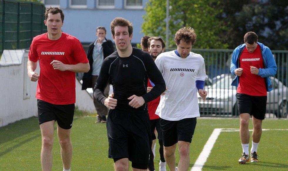 Hokejisté HC Olomouc zahájili letní přípravu