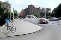 Nová podoba mostu na Masarykově třídě v Olomouci
