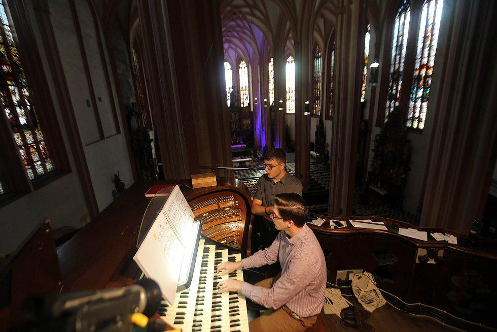 Mezinárodní varhanní festival v Olomouci. Richard Brasier (Velká Británie) – varhany