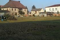 Pozemek u penzionu Herrenhof