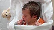 Martin Kubánek, Šternberk, narozen 3. dubna v Kroměříži, míra 50 cm, váha 3340 g