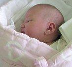 Nikol Konečná, Štěpánov, narozena 16. března v Olomouci, míra 50 cm, váha 3530 g