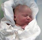 Vincent Chabičovský, Velká Bystřice, narozen 20. dubna v Olomouci, míra 52 cm, váha 3800 g