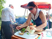 Burger Fest v olomoucké části Holice