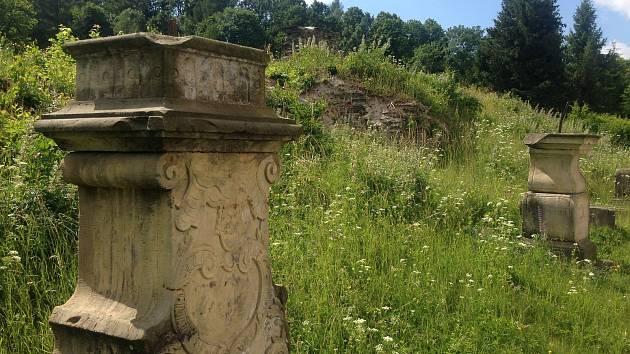 Pozůstatky piaristické koleje ve Staré Vodě, kde nabyl základy vzdělání například J. E. Purkyně