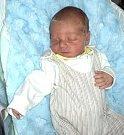 Mateo Mazánek, Bruntál, narozen 19. prosince ve Šternberku, míra 52 cm, váha 3560 g