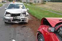 Nehoda opilého řidiče u Tovéře