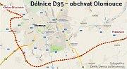 Dálnice D35 jako obchvat Olomouce