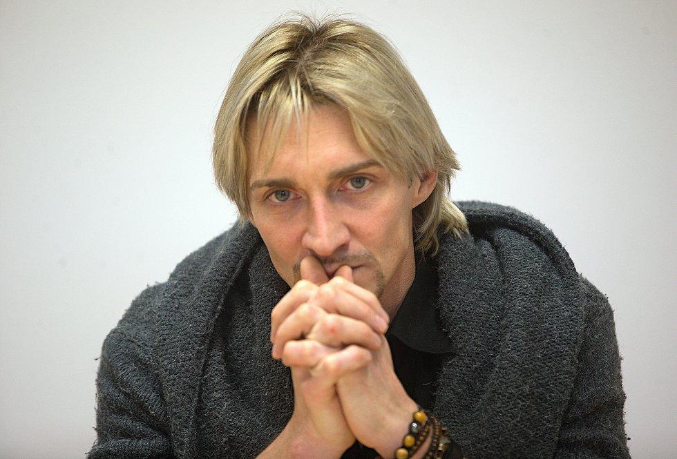 Umělecký šéf baletu Moravského divadla Michal Štípa