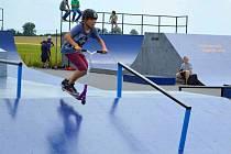Skatepark u letiště v olomoucké čtvrti Neředín