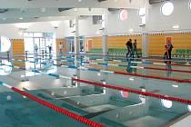 Zrekonstruovaný krytý bazén v Zábřehu