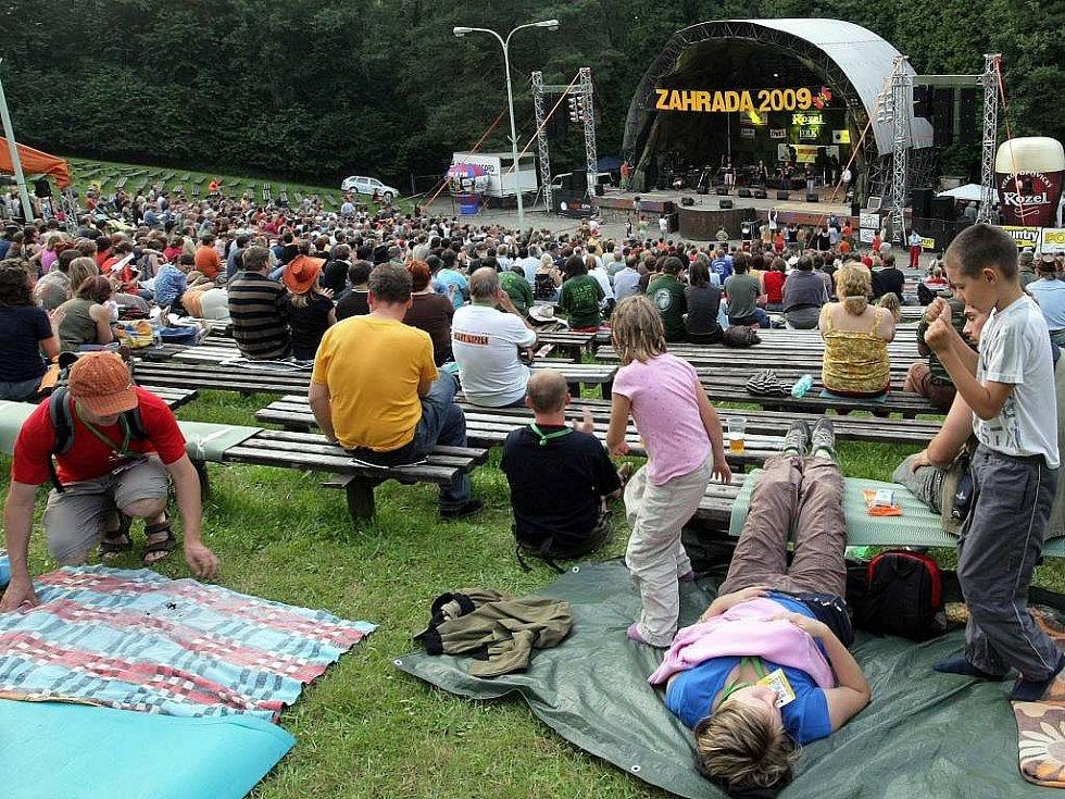 Festival Zahrada v Náměšti na Hané