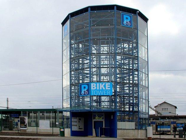 Cyklověž v Přerově. Ilustrační foto