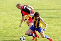 FC Dolany – Sokol Konice. Ilustrační foto.