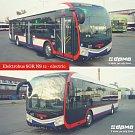 Nový nízkopodlažní elektrobus v Olomouci