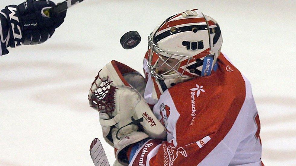 Gólman HC Olomouc Vojtěch Mokrý