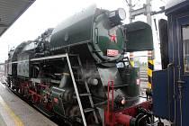 Prezidentský vlak v Olomouci. Rosnička z Olomouce