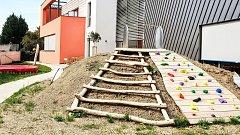 Zrekonstruovaná mateřská škola na Nádražní ulici ve Šternberku
