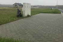 Obec Střeň nachystala pozemky k výstavbě rodinných domů. Listopad 2020