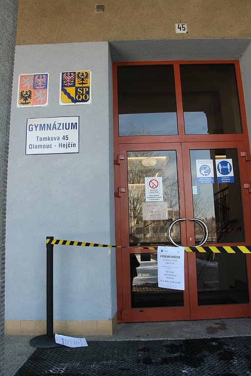 Do testování se zapojí také studenti nejvyšších ročníků gymnázia Hejčín.
