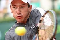 Olomoucký tenista Jan Hájek.