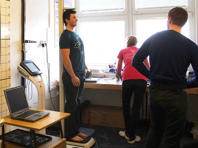 Den otevřených dveří na Fakultě tělesné kultury UP v Olomouci