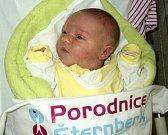 Ema Nováková, Olomouc narozena 11. března míra 51 cm, váha 3670 g