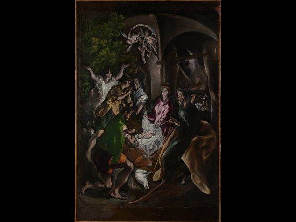 El Greco: Klanění pastýřů