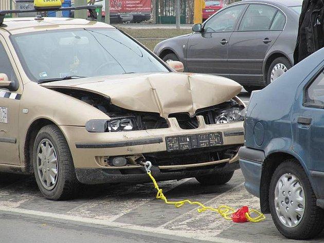 Nehoda taxíku na třídě Svobody