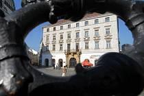 Barokní Salmův palác na Horním náměstí v Olomouci.