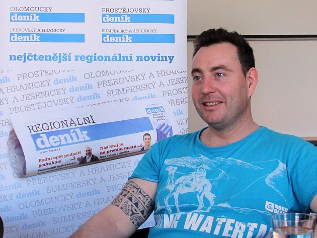 Šéfkuchař Jaroslav Klár při on-line rozhovoru se čtenáři Deníku