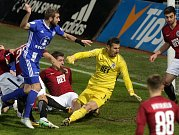 Martin Sladký dává vítězný gól zápasu