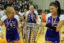 Volejbalistky Olomouce jsou mistrem české extraligy