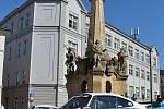 Ecce Homo Historic, dopolední program na Hlavním náměstí ve Šternberku, 11. 9. 2021