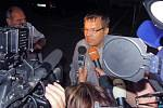 Bývalý poslanec Petr Tluchoř po propuštění z olomoucké vazební věznice