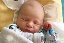 Nikolas Bálek, Litovel, narozen 21. října ve Šternberku, míra 48 cm, váha 3020 g