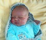 Daniel Krajča, Bohuňovice, narozen 18. září ve Šternberku, míra 51 cm, váha 3980 g
