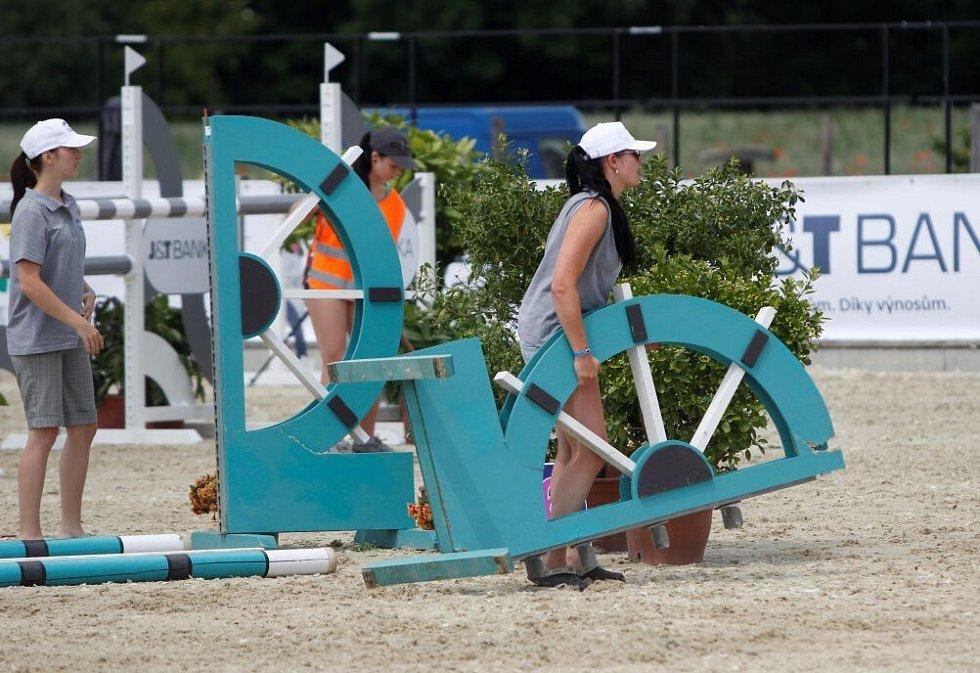 Světový pohár CSI*** Olomouc. Závody pro šestileté a sedmileté koně.