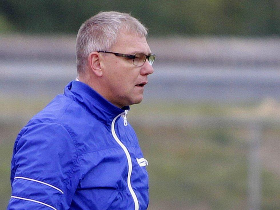 Trenér Jiří Balcárek.
