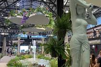 Letní Flora Olomouc 2021 - hlavní expozice v pavilonu A