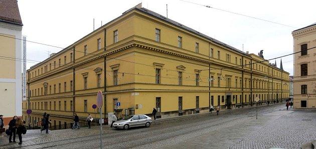 Hanácká kasárna unáměstí Republiky vcentru Olomouce